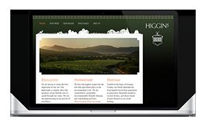 Website for Higgins