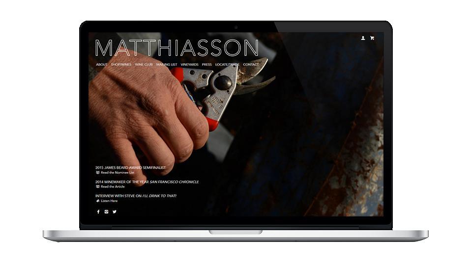 Website for Matthiasson